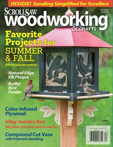 Scroll Saw Woodworking & Crafts | 9/2018 Cover