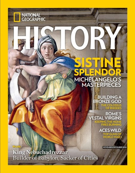 National Geographic History Cover - 11/1/2018