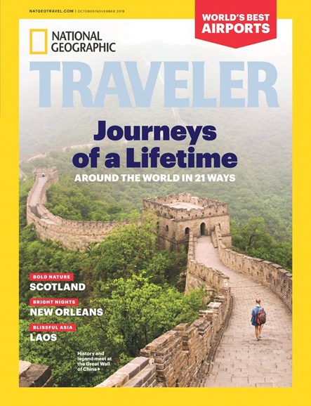 National Geographic Traveler Cover - 10/1/2018