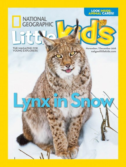 National Geographic Little Kids Cover - 11/1/2018