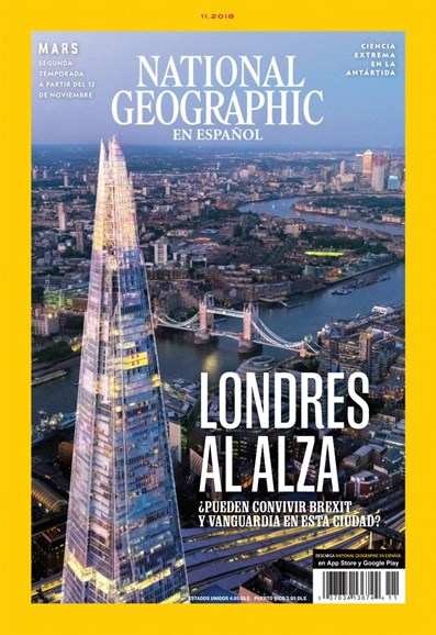 National Geographic En Español Cover - 11/1/2018