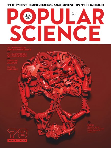 Popular Science Cover - 11/1/2018