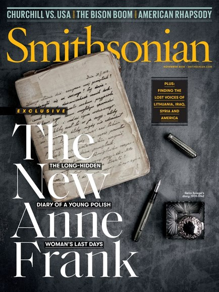 Smithsonian Cover - 11/1/2018