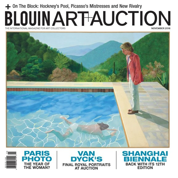 Blouin Art & Auction Cover - 11/1/2018