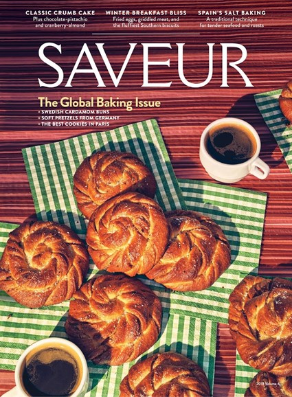 Saveur Cover - 12/1/2018