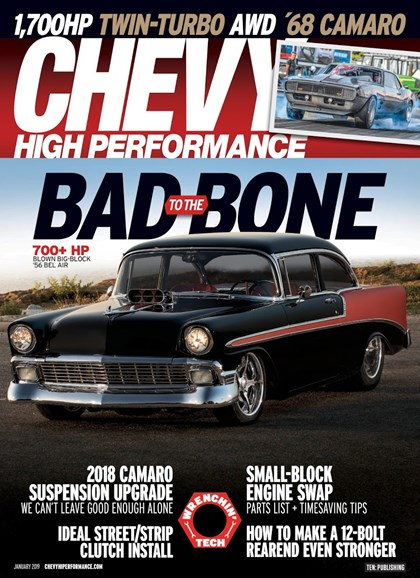 Chevy High Performance Cover - 1/1/2019
