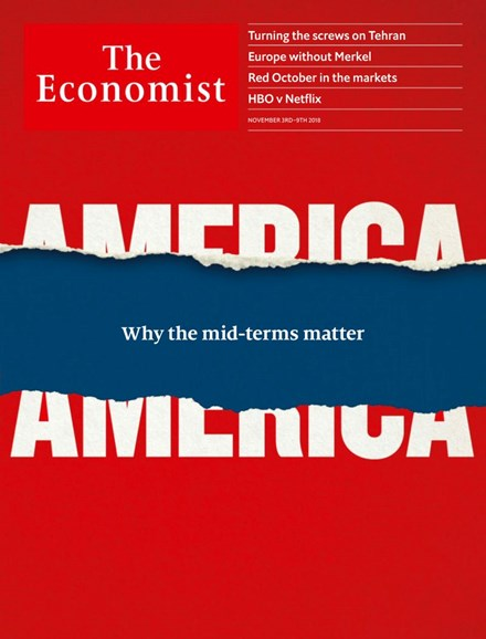 The Economist Cover - 11/3/2018