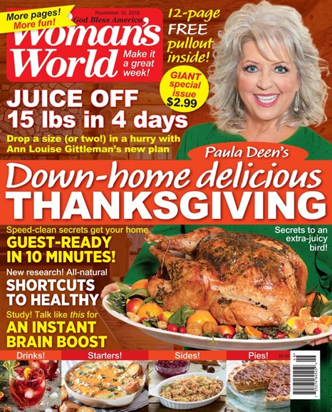Woman's World Cover - 11/12/2018