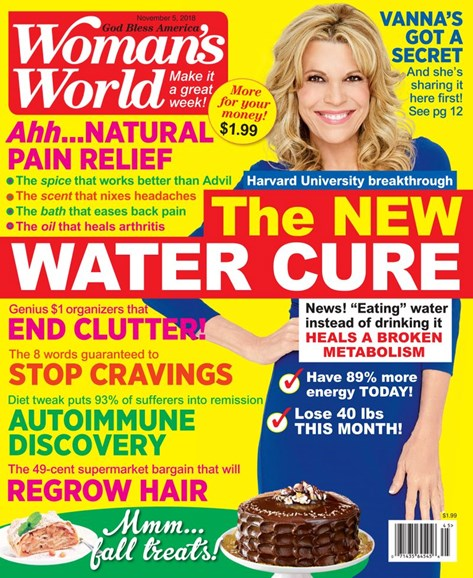 Woman's World Cover - 11/5/2018