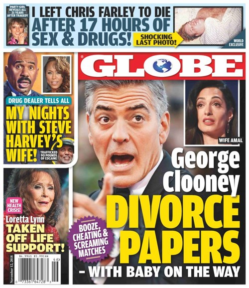 Globe Cover - 11/12/2018