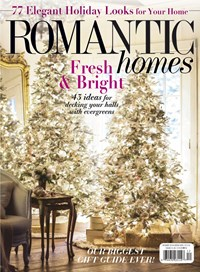 Romantic Homes Magazine | 12/1/2018 Cover