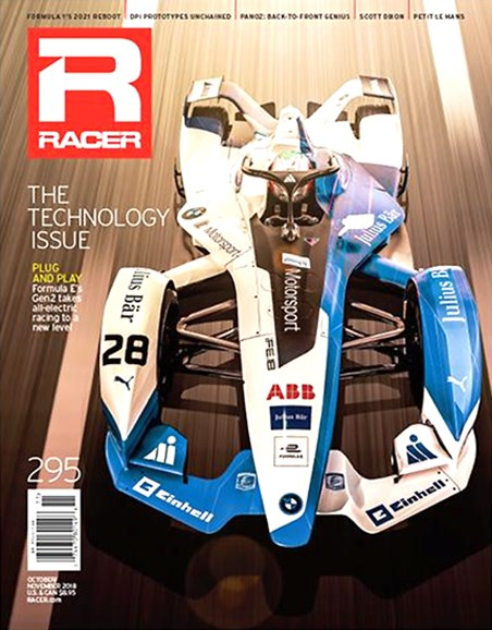 Racer Cover - 10/1/2018