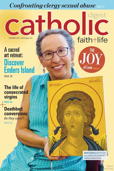 Catholic Digest Cover - 11/1/2018