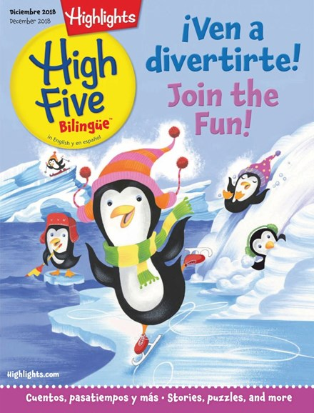 Highlights High Five Bilingue Cover - 12/1/2018