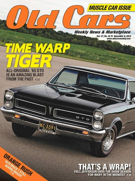 Old Cars Cover - 11/1/2018