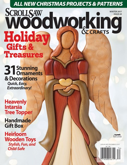 Scroll Saw Woodworking & Crafts Cover - 12/1/2017