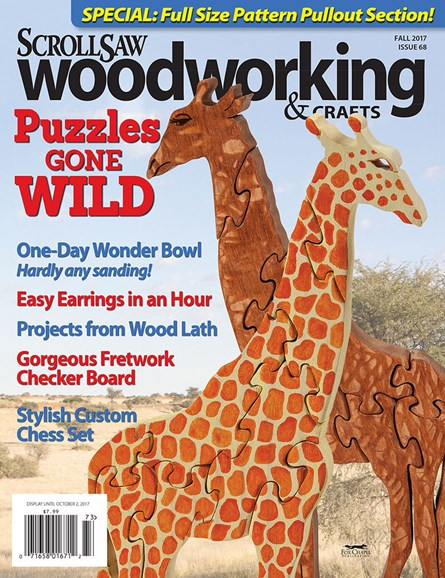 Scroll Saw Woodworking & Crafts Cover - 9/1/2017