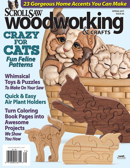 Scroll Saw Woodworking & Crafts Cover - 3/1/2017