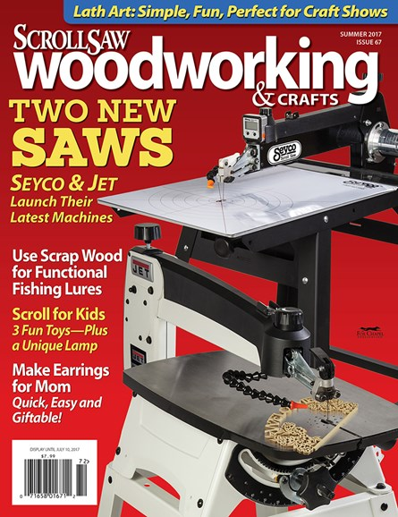Scroll Saw Woodworking & Crafts Cover - 6/1/2017