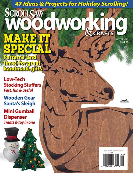 Scroll Saw Woodworking & Crafts Cover - 12/1/2016