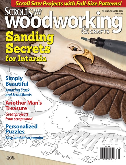 Scroll Saw Woodworking & Crafts Cover - 6/1/2016