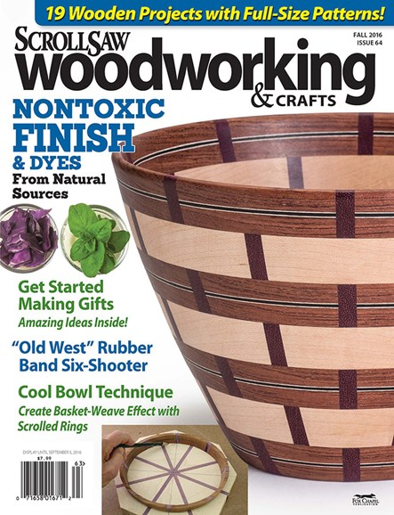 Scroll Saw Woodworking & Crafts Cover - 9/1/2016