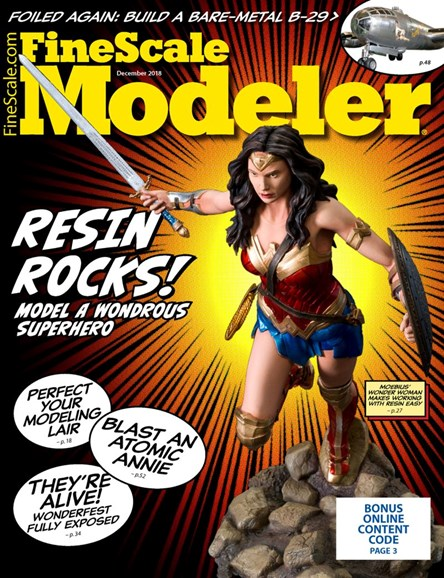 Finescale Modeler Cover - 12/1/2018