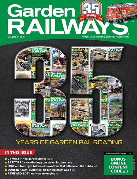 Garden Railways Cover - 12/1/2018