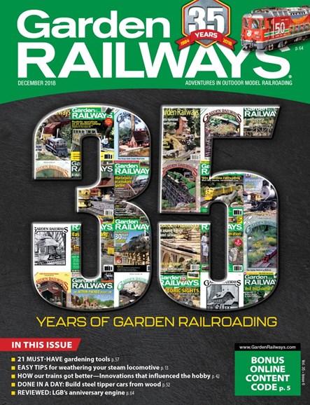 Garden Railways Cover - 12/1/2018
