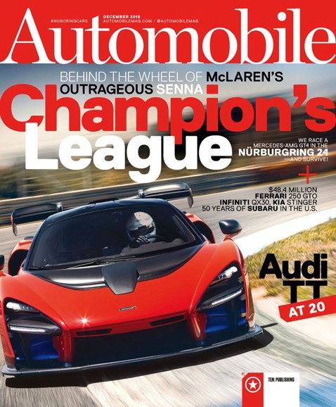 Automobile Cover - 12/1/2018