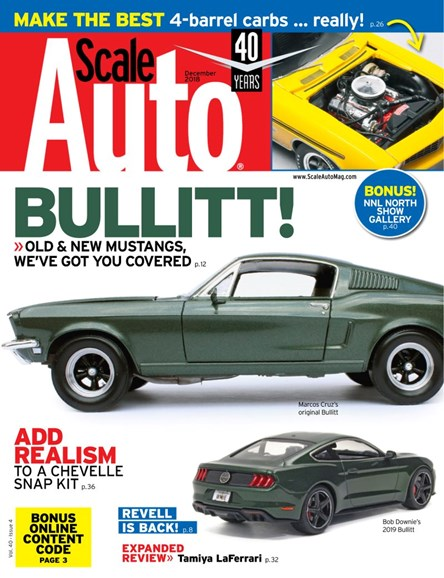 Scale Auto Magazine Cover - 12/1/2018