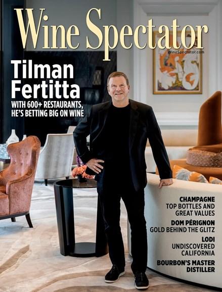 Wine Spectator Cover - 12/15/2018