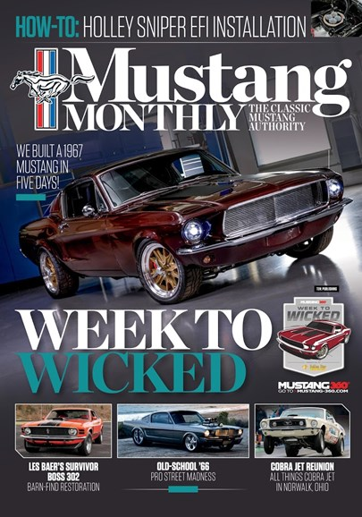 Mustang Monthly Cover - 12/1/2018