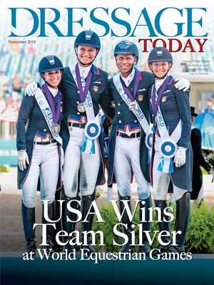 Dressage Today Magazine | 11/1/2018 Cover