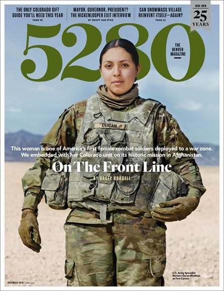 5280 Magazine Cover - 11/1/2018