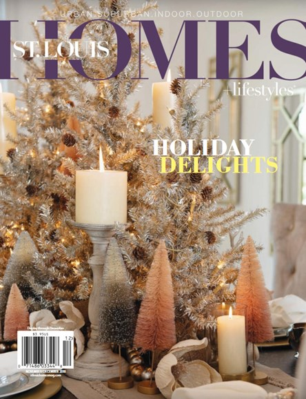 St. Louis Homes & Lifestyles Cover - 11/1/2018