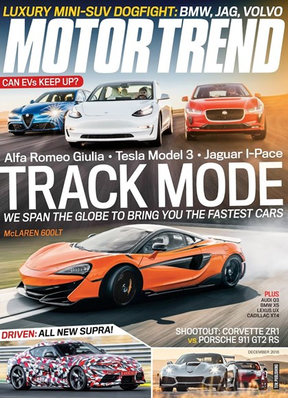 Motor Trend Cover - 12/1/2018