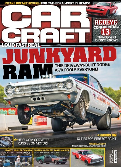 Car Craft Cover - 1/1/2019