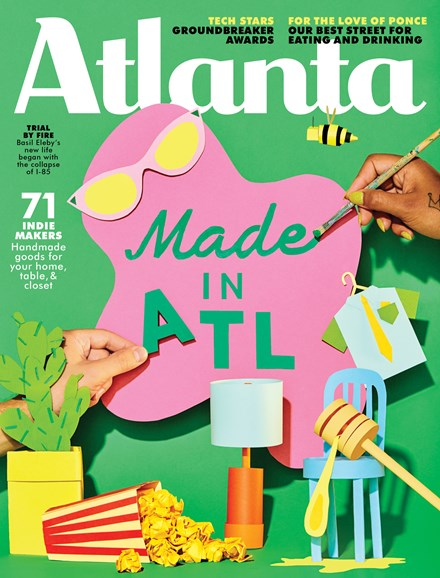 Atlanta Magazine Cover - 11/1/2018