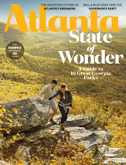 Atlanta Magazine Cover - 10/1/2018