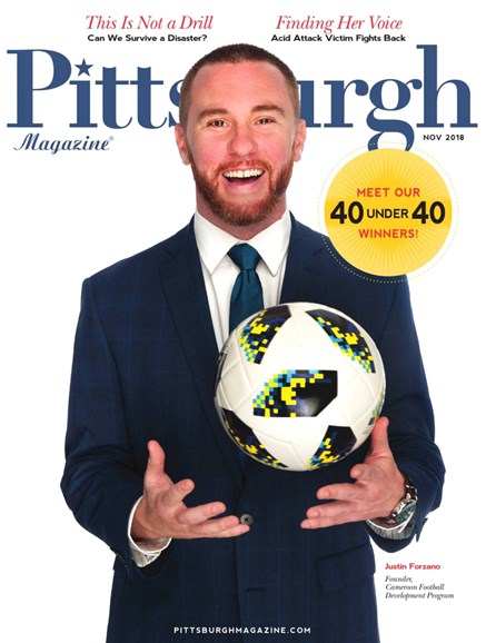 Pittsburgh Magazine Cover - 11/1/2018