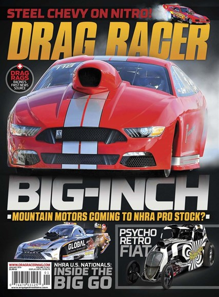 Drag Racer Cover - 1/1/2019