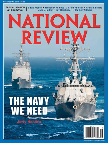 National Review Cover - 11/12/2018