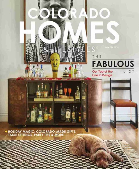 Colorado Homes & Lifestyles Cover - 11/1/2018
