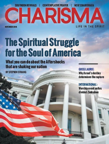 Charisma Cover - 11/1/2018