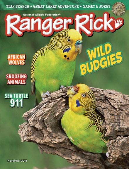 Ranger Rick Cover - 11/1/2018