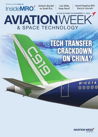 Aviation Week & Space Technology Cover - 11/29/2018
