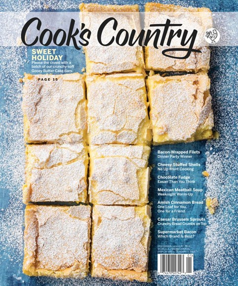 Cook's Country Cover - 12/1/2018