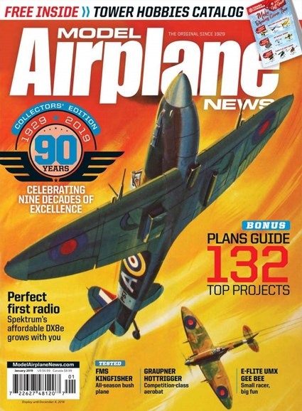 Model Airplane News Cover - 1/1/2019