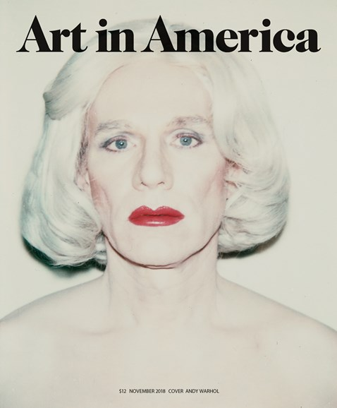 Art In America Cover - 11/1/2018